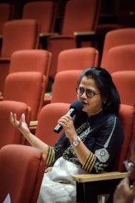 Q&A with Sara Mahdi. Photo credit: Beheld