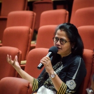 Q&A with Sara Mahdi. Photo credit: Beheld