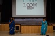 In conversation with Keya Vaswani and Nidhi Kamath, directors of Weaves of Maheshwar. Photo credit: Beheld