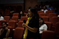 Q&A with Keya and Nidhi. Photo credit: Beheld