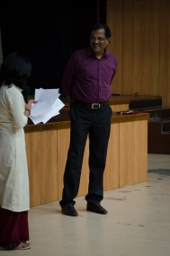 Prof V. Shivalingam. Photo credit: Beheld