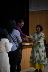 Thanking NIFT, Bengaluru for their support. Photo credit: Beheld